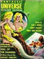 'The Seal of the Damned' ('The Seal of R'lyeh') en Fantastic Universe SciFi, julio 1957.